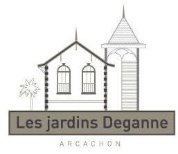 logo les jardins deganne à Arcachon