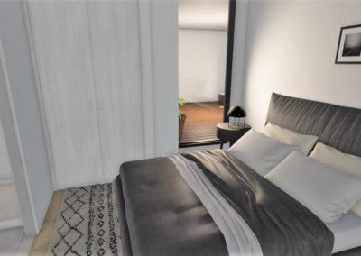 Programme immobilier neuf Annexe Bordeaux Bastide Niel chambre