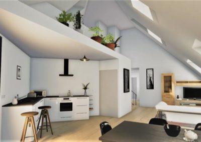 Programme immobilier neuf Annexe Bordeaux Bastide Niel Intérieur